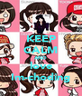 KEEP CALM AND love Im-choding - Personalised Poster A4 size
