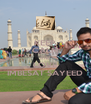 KEEP CALM AND LOVE IMBESAT SAYEED - Personalised Poster A4 size