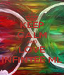 KEEP CALM AND LOVE INFINTEE ML - Personalised Poster A4 size