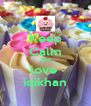Keep Calm And love  iqikhan - Personalised Poster A4 size