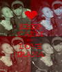 KEEP CALM AND LOVE IRANA - Personalised Poster A4 size