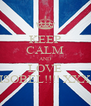 KEEP CALM AND LOVE ISOBEL!!!! XXX - Personalised Poster A4 size