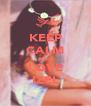 KEEP CALM AND LOVE IZEL - Personalised Poster A4 size