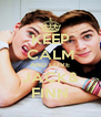 KEEP CALM AND LOVE JACK& FINN - Personalised Poster A4 size