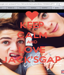 KEEP CALM AND LOVE JACK'SGAP - Personalised Poster A4 size