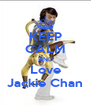 KEEP CALM AND Love Jackie Chan - Personalised Poster A4 size