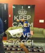 KEEP CALM AND LOVE  JAGGI - Personalised Poster A4 size