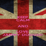 KEEP CALM AND LOVE  JAMMY DODGER! - Personalised Poster A4 size