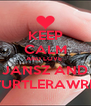 KEEP CALM AND LOVE  JANSZ AND TURTLERAWRR - Personalised Poster A4 size