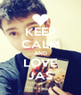 KEEP CALM AND LOVE JAŚ - Personalised Poster A4 size