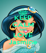 KEEP CALM AND LOVE Jasmine - Personalised Poster A4 size