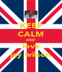 KEEP CALM AND love jay wilson - Personalised Poster A4 size