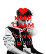 KEEP CALM AND Love  jb!!!!!! - Personalised Poster A4 size