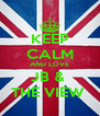 KEEP CALM AND LOVE JB &  THE VIEW  - Personalised Poster A4 size