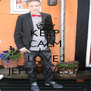 KEEP CALM AND LOVE  JEPPE WEST  - Personalised Poster A4 size