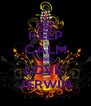 KEEP CALM AND LOVE  JERWIN - Personalised Poster A4 size