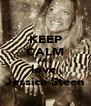 KEEP CALM AND love  Jessica Steen - Personalised Poster A4 size