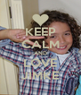 KEEP CALM AND LOVE JIMKE - Personalised Poster A4 size