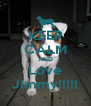 KEEP CALM AND Love Jimmy!!!!! - Personalised Poster A4 size