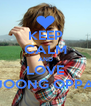 KEEP CALM AND LOVE JOONG OPPA - Personalised Poster A4 size