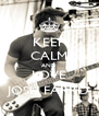 KEEP CALM AND LOVE JOSH FARRO - Personalised Poster A4 size