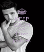KEEP CALM AND Love Josh H. - Personalised Poster A4 size
