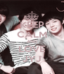 KEEP CALM AND LOVE JYJ - Personalised Poster A4 size
