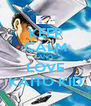 KEEP CALM AND LOVE KAITO KID - Personalised Poster A4 size
