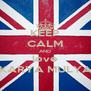 KEEP CALM AND love KARYA MULYA - Personalised Poster A4 size