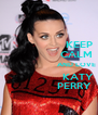 KEEP                  CALM                           AND LOVE                   KATY                 PERRY - Personalised Poster A4 size