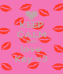 KEEP CALM AND love Kay <3 - Personalised Poster A4 size