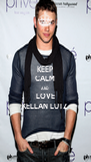 KEEP CALM AND LOVE KELLAN LUTZ  - Personalised Poster A4 size