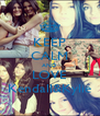 KEEP CALM AND LOVE Kendall&Kylie - Personalised Poster A4 size