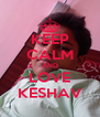 KEEP CALM AND LOVE KESHAV - Personalised Poster A4 size