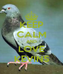 KEEP CALM AND LOVE KEVINS - Personalised Poster A4 size