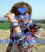 KEEP CALM AND LOVE  KIM.H JOONG - Personalised Poster A4 size
