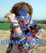 KEEP CALM AND LOVE KIM HYUNG  - Personalised Poster A4 size