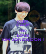KEEP CALM AND LOVE KIM JONGWOON ! - Personalised Poster A4 size