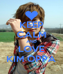 KEEP CALM AND LOVE KIM OPPA - Personalised Poster A4 size