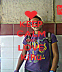 KEEP CALM AND LOVE KiRu - Personalised Poster A4 size