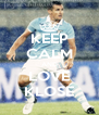 KEEP CALM AND LOVE KLOSE - Personalised Poster A4 size