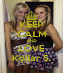 KEEP CALM AND LOVE Kollar S. - Personalised Poster A4 size