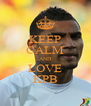 KEEP CALM AND LOVE KPB - Personalised Poster A4 size