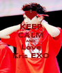 KEEP CALM AND Love Kris EXO - Personalised Poster A4 size