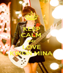 KEEP CALM AND LOVE KWON MINA - Personalised Poster A4 size
