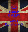 KEEP CALM AND Love Kyisha <3 - Personalised Poster A4 size