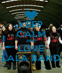 KEEP CALM AND LOVE LALA BAND - Personalised Poster A4 size