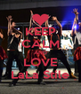 KEEP CALM AND LOVE LaLa Stile - Personalised Poster A4 size
