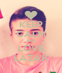 KEEP CALM AND LOVE LAZAR - Personalised Poster A4 size