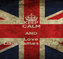 KEEP CALM AND Love Liam James Payne - Personalised Poster A4 size